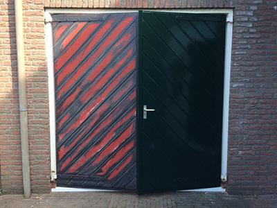 garagedeur-geschilderd